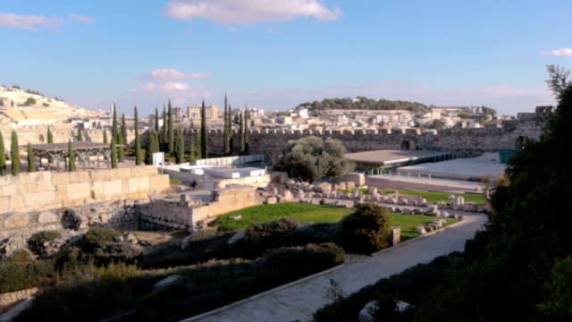 Jerusalem Panorama - Stock Video