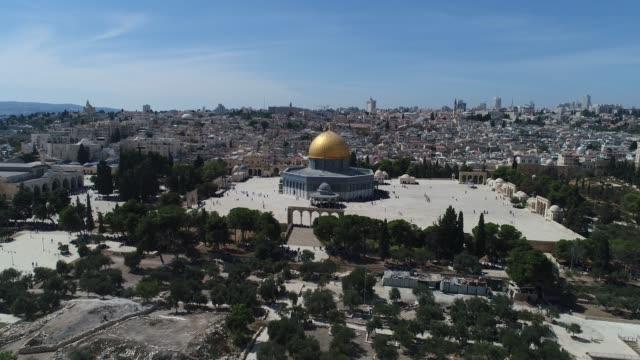 jerusalem jerusalem israel- Western wall  and Mount of Olives middle east stock videos & royalty-free footage