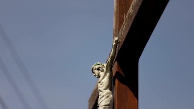 Jesus Christ on the cross - Stock Footage video
