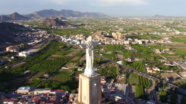 Jesus Christ Statue on Monteagudo video