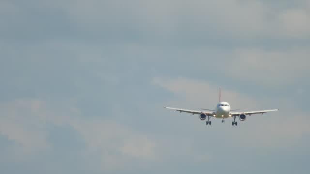 ジェット機接近中 ビデオ