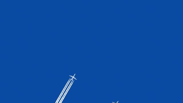 Jet airplane video