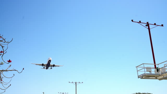 WS Jet landing at LAX airport video