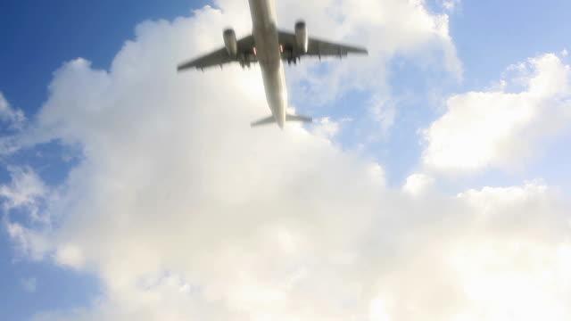 Jet Avion atterrissant - Vidéo