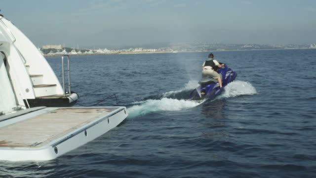 Jet Ski Driving Out to Sea video