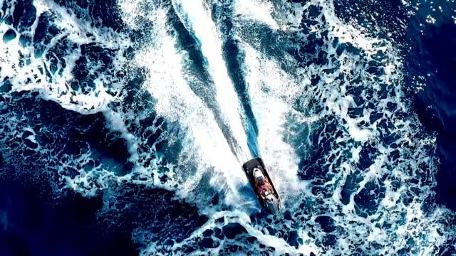 Jet ski Amazing jet ski ride. recreational boat stock videos & royalty-free footage