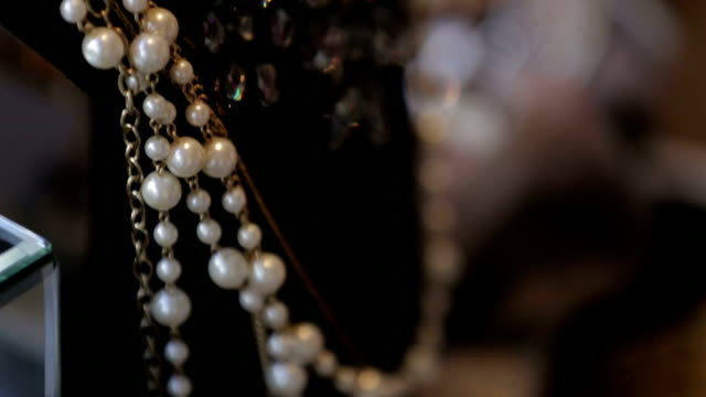 Jewellery - Stock footage video