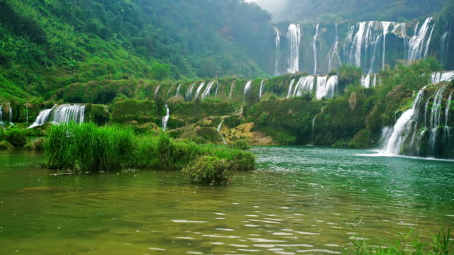 Jiulong nine dragon waterfall yunnan china video
