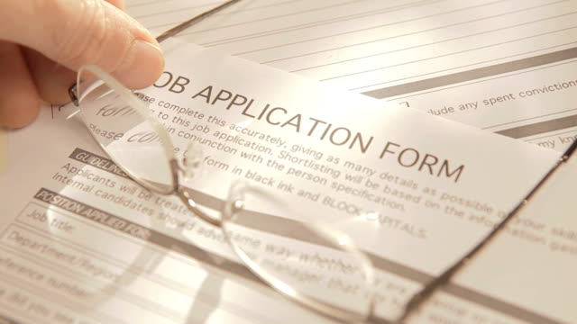 Job Application Form video