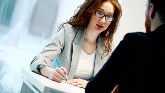 Job application interview
