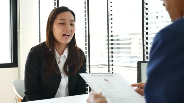 Job interview Job interview job interview stock videos & royalty-free footage