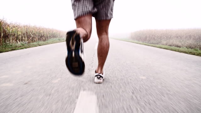 TS Jogging In The Fog video