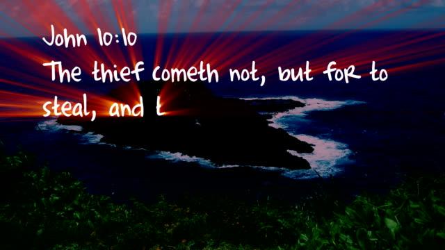 John 10:10 - HD video