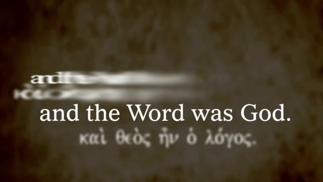John 1:1-4 video