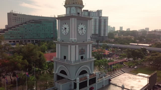 Johor Bahru City Square aerial view, Malaysia Dataran Bandaraya Johor Bahru johor bahru stock videos & royalty-free footage