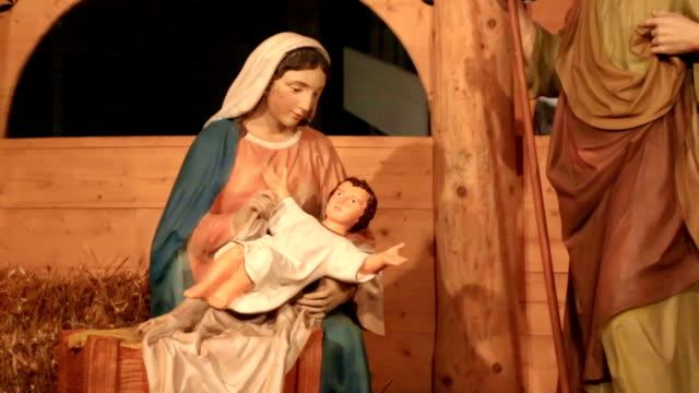 Joseph, Mary and baby Jesus video