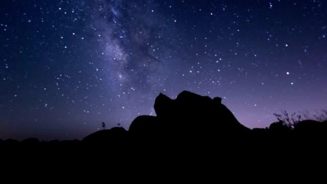 Joshua Tree Milky Way Time Lapse video