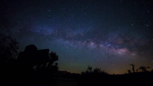 Joshua Tree National Park Milky Way Timelapse video