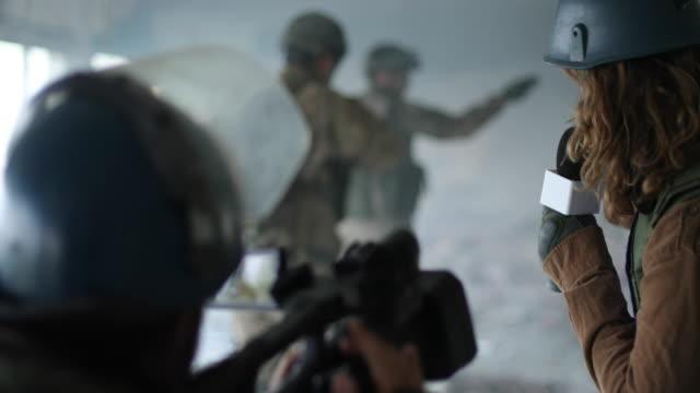 Journalist im Krieg – Video