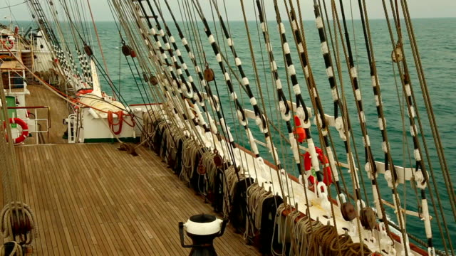 journey on an old sailboat journey on an old sailboat mast sailing stock videos & royalty-free footage