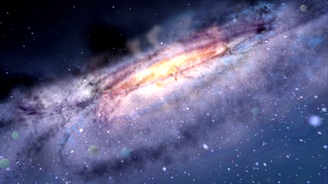 Journey through incredible nebula video
