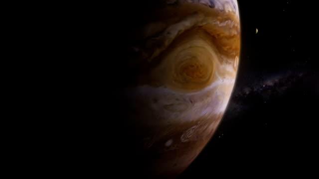podróż przez układ słoneczny. europie. - io księżyc filmów i materiałów b-roll