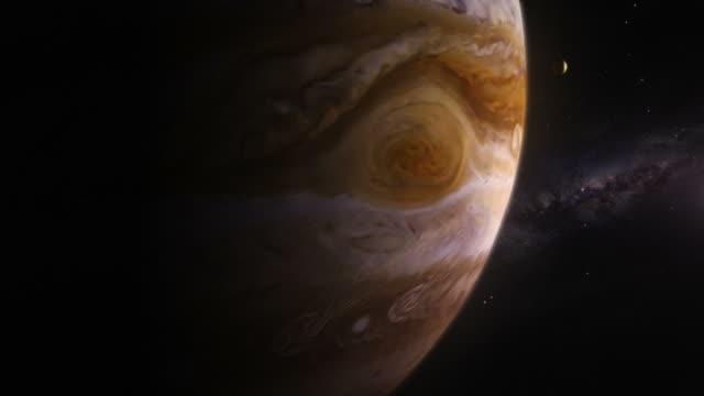 Journey through the Solar System. US. Saturn, Jupiter, Mars, Earth. video