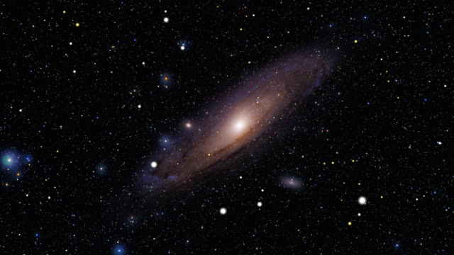 Journey to the Andromeda Galaxy video