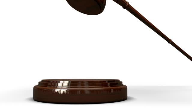 Judges's Gavel video