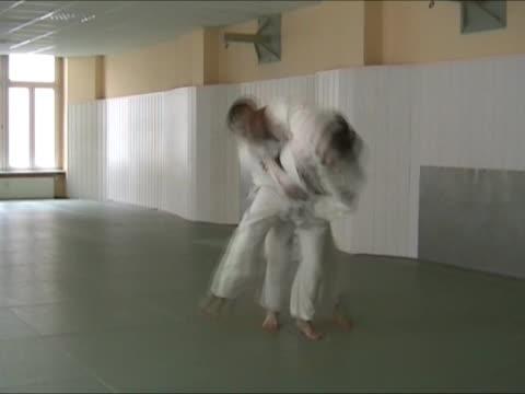 Judo combat video