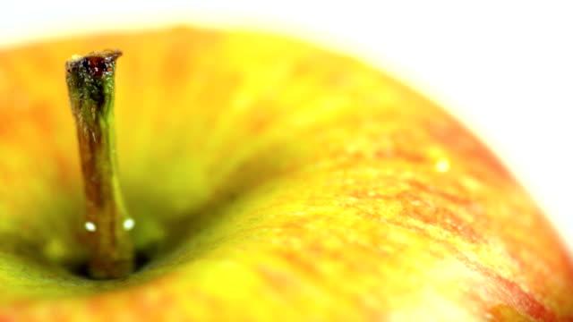 Juicy Apple revolving. HD video