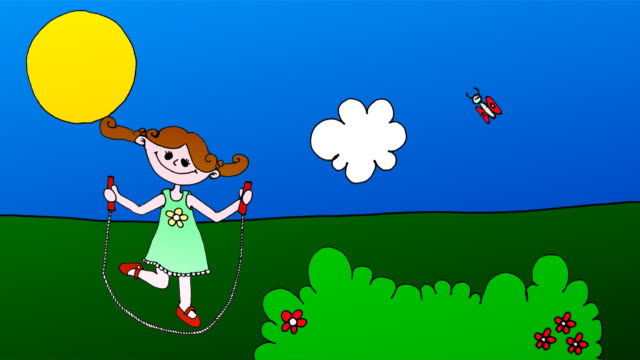 Jump Rope Cartoon video
