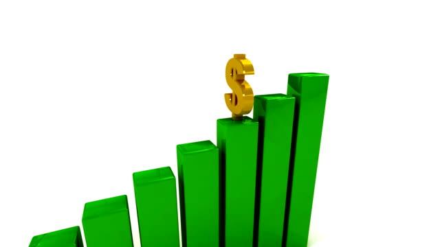 jumping-dollar (loop, alpha - inflation stock-videos und b-roll-filmmaterial