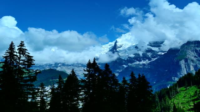 Jungfrau scenic area in Switzerland video