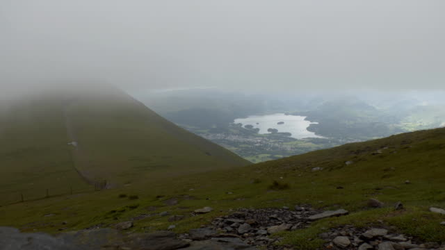 Just under the cloud in Lake District video