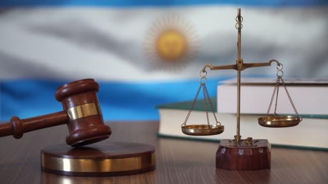 justice for argentina laws in argentine court - argentyna filmów i materiałów b-roll