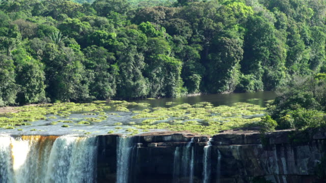 Kaieteur Waterfall on the Potaro River. Guyana landmark video