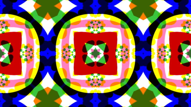 Kaleidoscope 2D HD 1080 video