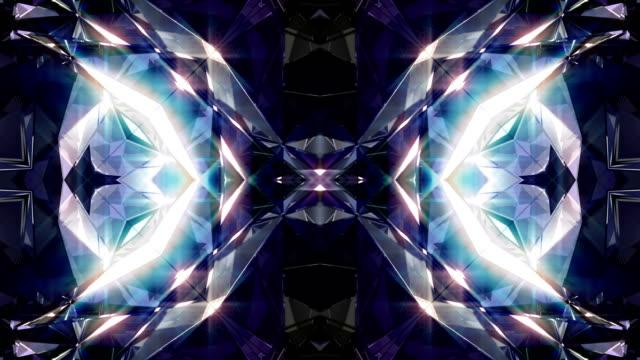 kaleidoscope  4k - узор калейдоскоп стоковые видео и кадры b-roll