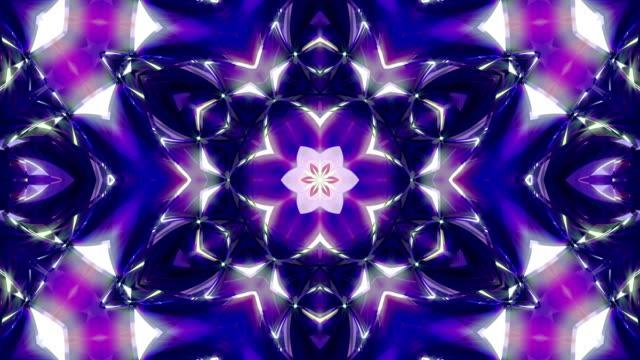 カレイド スコープ 4 k - 万華鏡模様点の映像素材/bロール