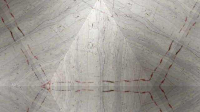 kaleidoscope abstract texture background - nervi digitali video stock e b–roll