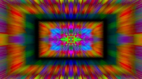 Kaleidoscope artistic neon futuristic background Kaleidoscope artistic neon futuristic background. Seamless footage. boho stock videos & royalty-free footage