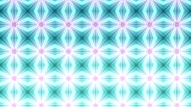 Kaleidoscope background abstract loop video