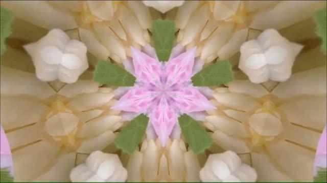 stockvideo's en b-roll-footage met caleidoscoop achtergrond beelden voor creatief ontwerp - mandala