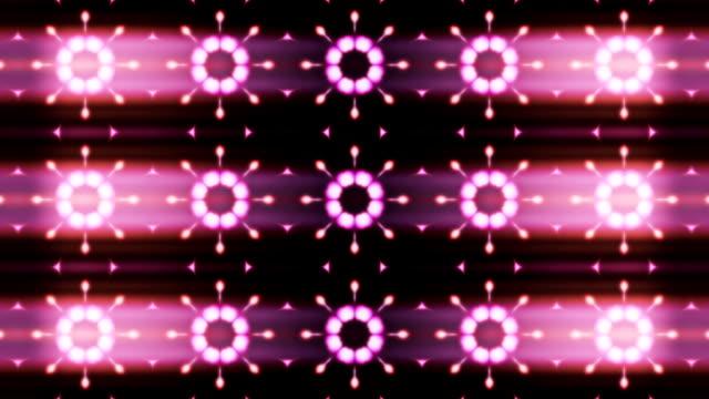 Kaleidoscope background loop video