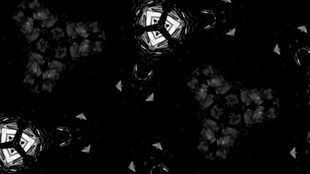 kaleidoscope ink texture video