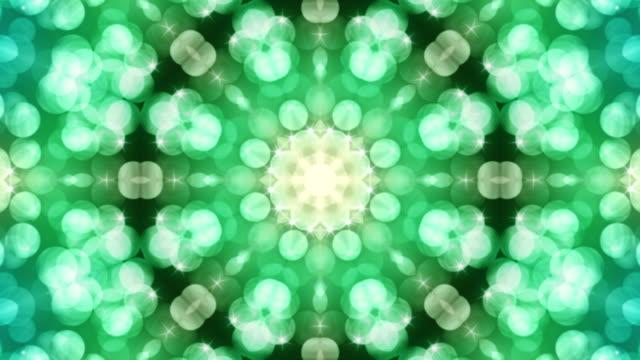 Kaleidoscope of shapes loop video
