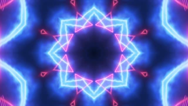 万華鏡の視覚 - 万華鏡模様点の映像素材/bロール
