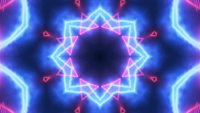 kaleidoscope visual - узор калейдоскоп стоковые видео и кадры b-roll
