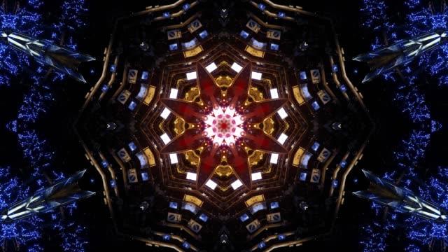 万華鏡の視覚 - シュール点の映像素材/bロール